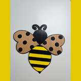 Bumble Bee Door Hanger Cutout