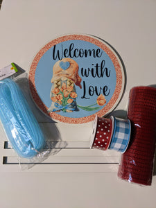 Welcome with Love Wreath Rail Kit