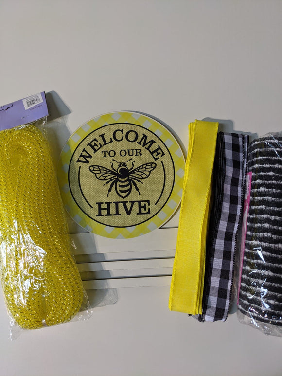 Welcome to the Hive Wreath Rail Kit
