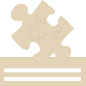 "Be Kind Puzzle Wreath Rail - 12"" 16"" 20"""