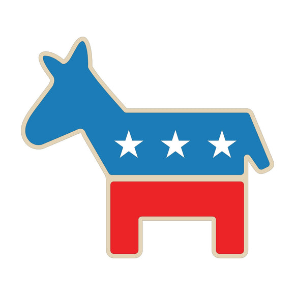 Democratic Donkey Cutout
