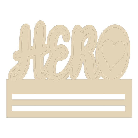 Hero Heart Wreath Rail - 12