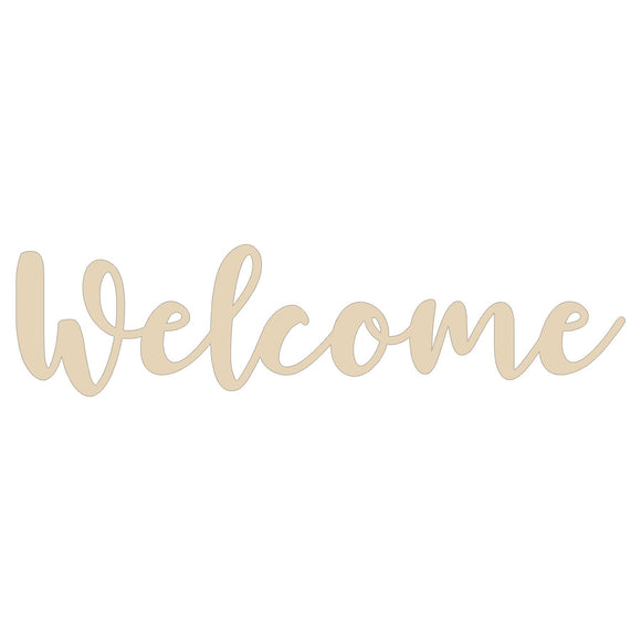 Welcome wood blank - 12