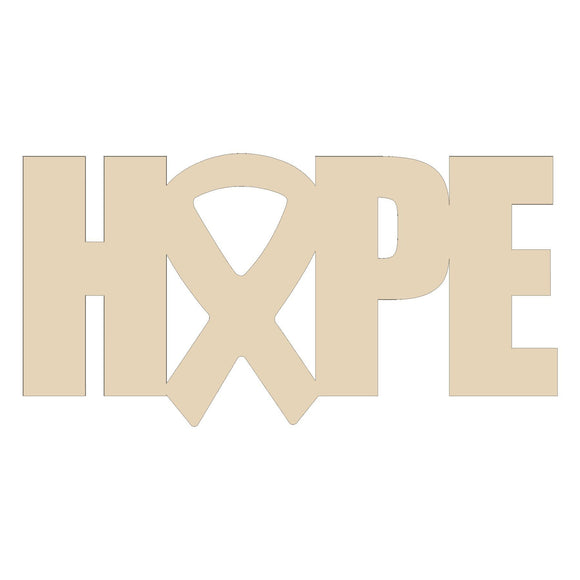 Hope Awareness Door Hanger - 20