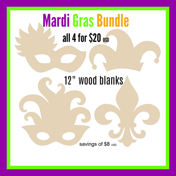 Mardi Gras Bundle - 12