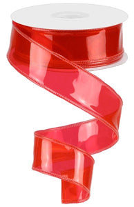 "1.5"" X 10yd Jelly Ribbon - Poppy Red"