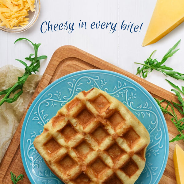 Pegi Waffles : Cheese (Pack of 8)