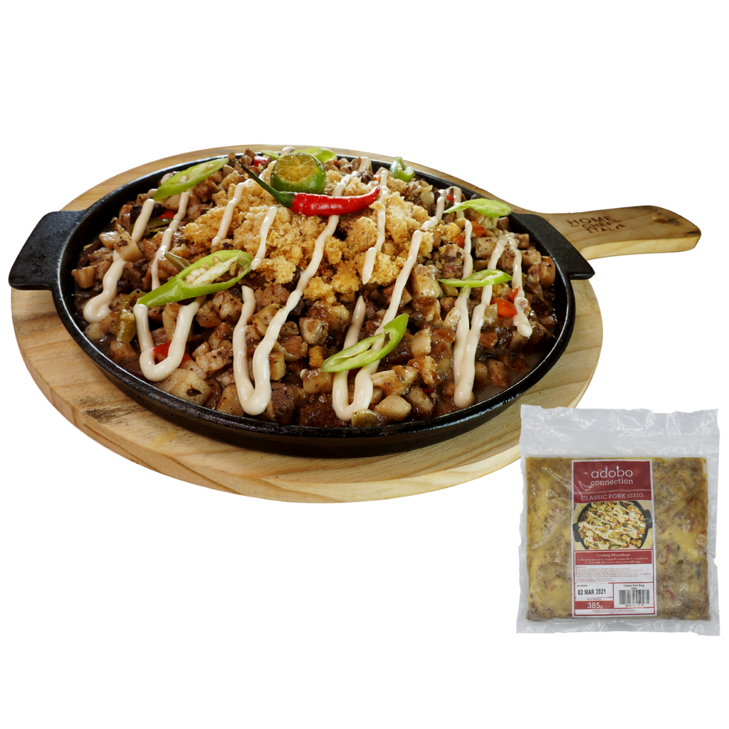 Adobo Connection Classic Pork Sisig (385g)