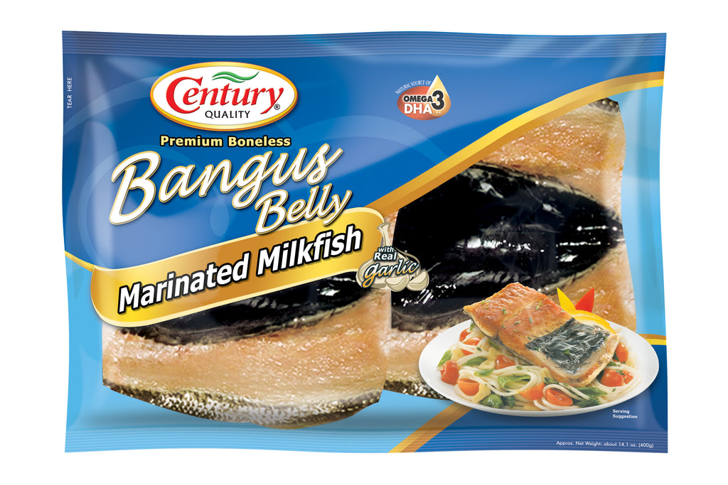 Century Quality Bangus Belly : Marinated