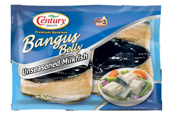 Century Quality Bangus Belly : Plain