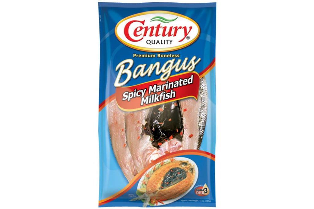 Century Quality Bangus : Marinated 2 pieces (Hot)