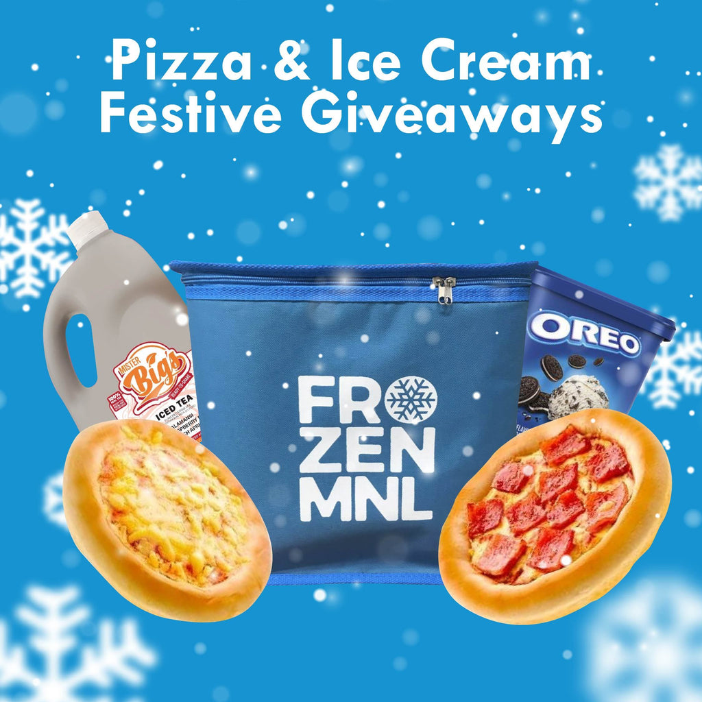 Pizza & Ice Cream Festive Giveaways