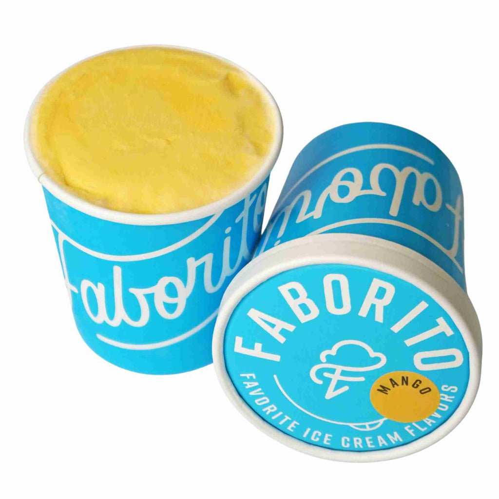 Faborito  Mango Pint Ice Cream