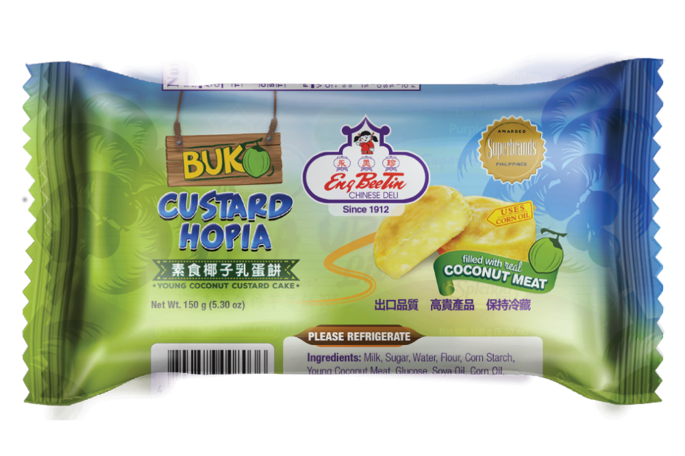 Eng Bee Tin Frozen Hopia Buko Custard