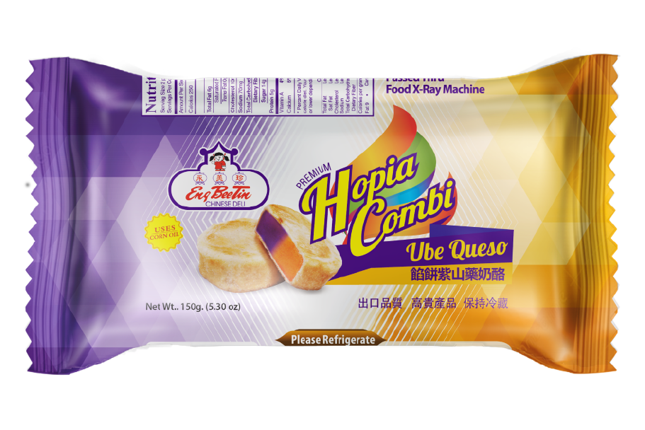 Eng Bee Tin Frozen Hopia Ube Queso