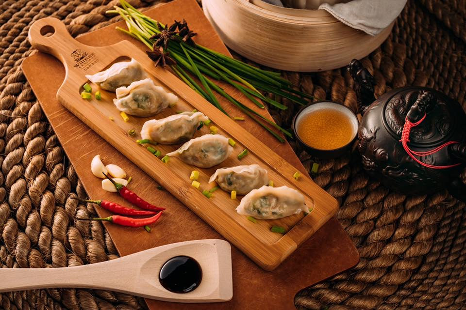 Chef Tsay Dumplings : Pork with Leeks