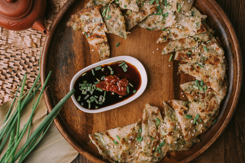 Chef Tsay Onion Pizza (Scallion Pancake)