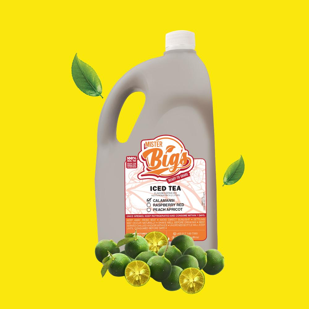 Mister Big's Calamansi Iced Tea