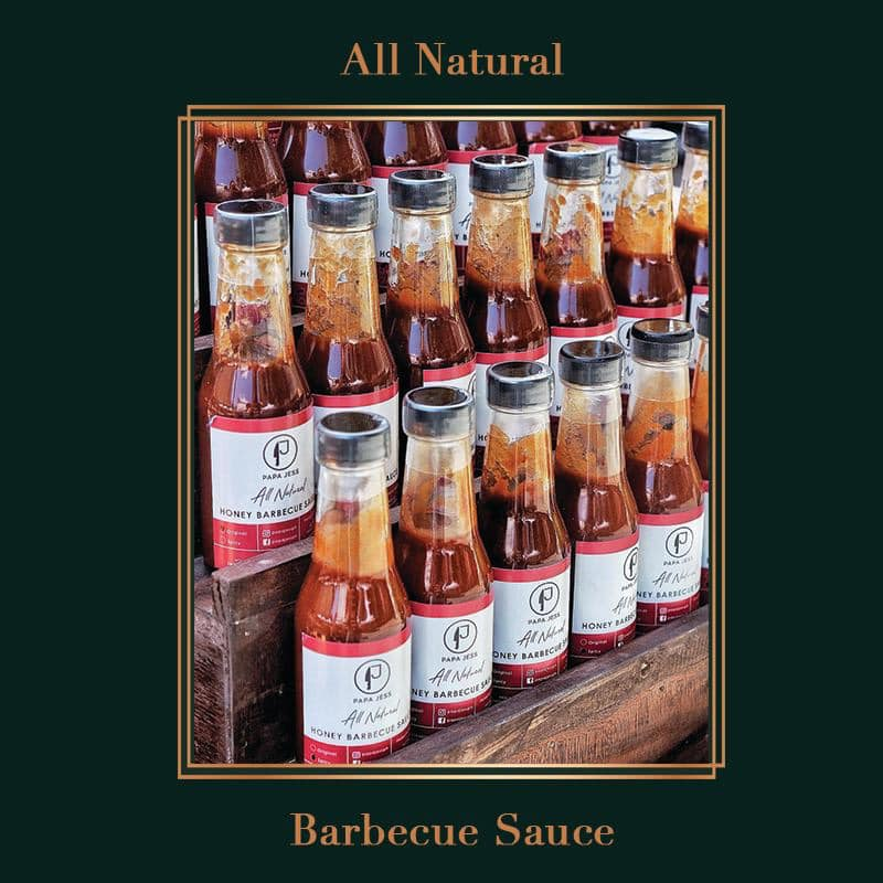 Papa Jess All Natural Honey Barbecue Sauce