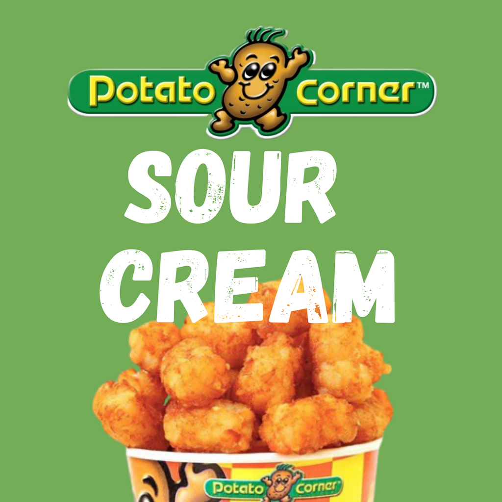 Potato Corner Tater Tots Sour Cream