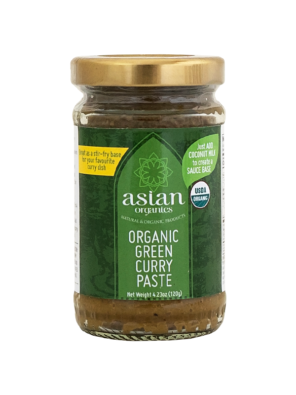 Asian Organics Green Curry Paste