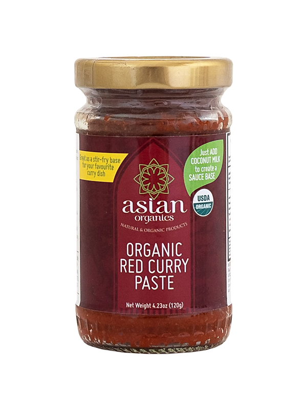 Asian Organics Red Curry Paste