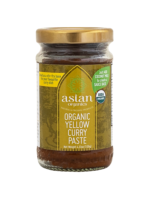 Asian Organics Yellow Curry Paste