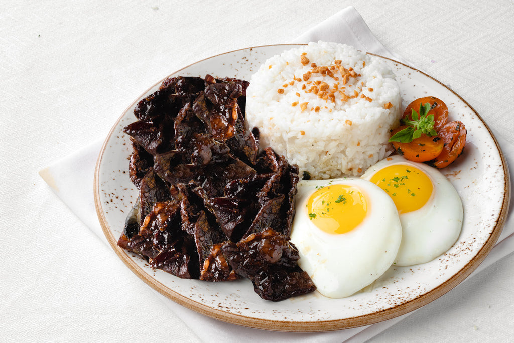 Bizu Breakfast US Sirloin Tapa (Sweet, Saucy and Savoury)