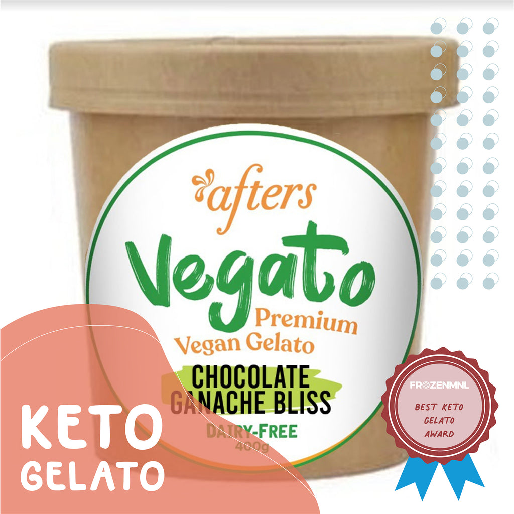 Afters Low Carb Keto Vegan Chocolate Ganache Bliss Gelato