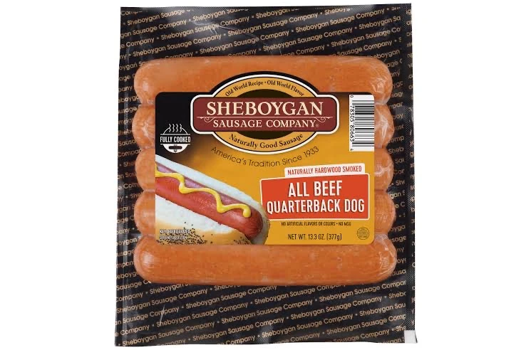 Sheboygan All Beef Quarterback Dog