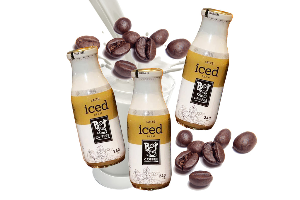 Bo's Coffee Iced Brew : Latte (Pack of 3)