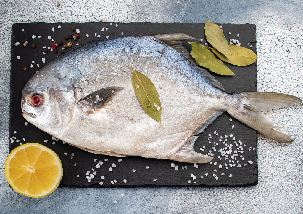 Pompano : Whole / Cleaned