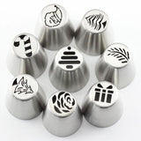 19 Pcs Russian Icing Piping Tips Design