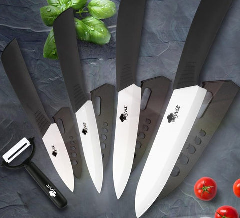 Ceramic Kitchen Knives Set