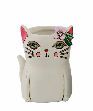 Baby kitty planter