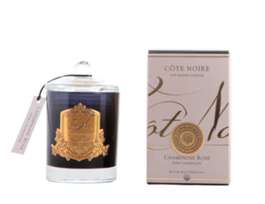 Luxury candles pink champagne