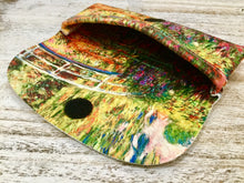 Load image into Gallery viewer, Velour glasses case Monet gardens