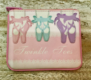 Leather coin purse Ballet