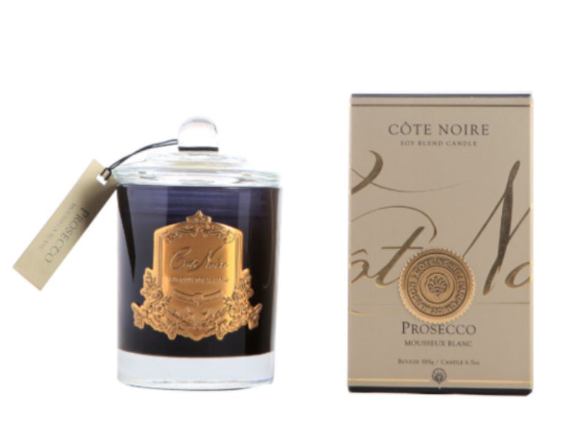 Luxury candles Prosecco
