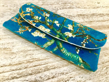 Load image into Gallery viewer, Velour glasses case Blossoms Van Gough