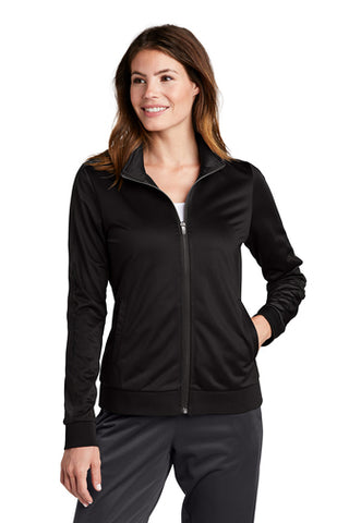 Sport-Tek ® Ladies Tricot Track Jacket