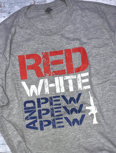 Red White & Pew