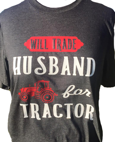 Husband for Tractor Tee