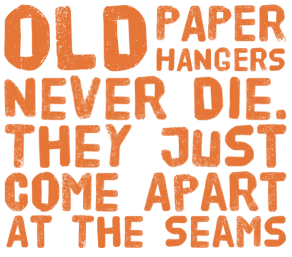 Old Paper Hangers printable file