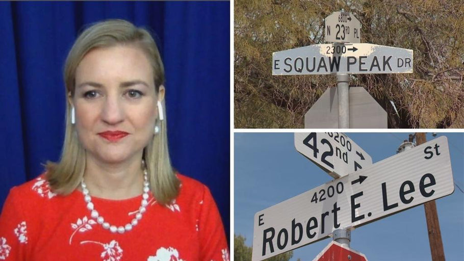 Mayor of Phoenix wants to change 'offensive' names of two Valley streets!