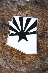 Arizona Pride BW sticker