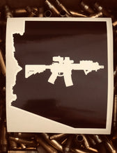 Load image into Gallery viewer, Arizona state AR15 decal sticker