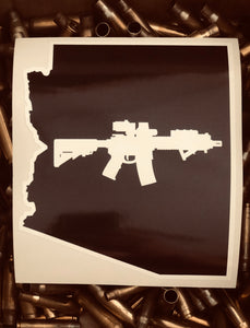 Arizona state AR15 decal sticker