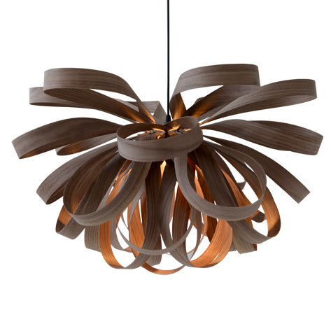 George Walnut - Handmade ceiling light