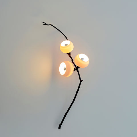 Georgina White Sorbus Wall Light